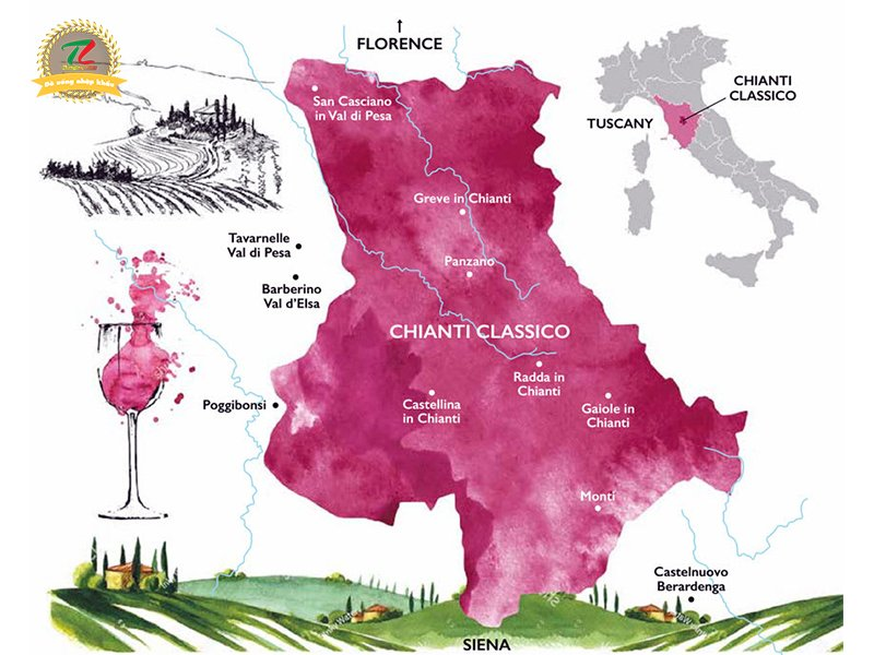 chianti niem kieu hanh xu tuscany xinh dep 5